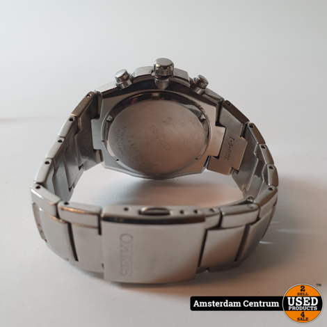 Seiko Chronograph SNA797P1 Quartz Heren Horloge   Incl. garantie