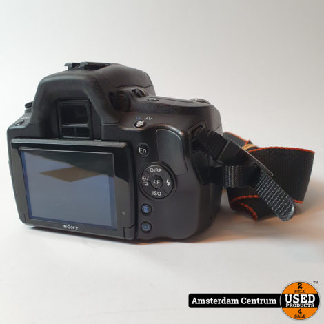 Sony A390 Camera +18-55/3.5-5.6 SAM Lens | Incl. garantie