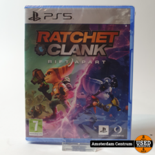 PlayStation 5 Game: Ratchet Clank Rift Apart | Nieuw in Seal