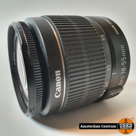 Canon EF-S 18-55MM IS II F/3.5-5.6 Lens | In nette taat
