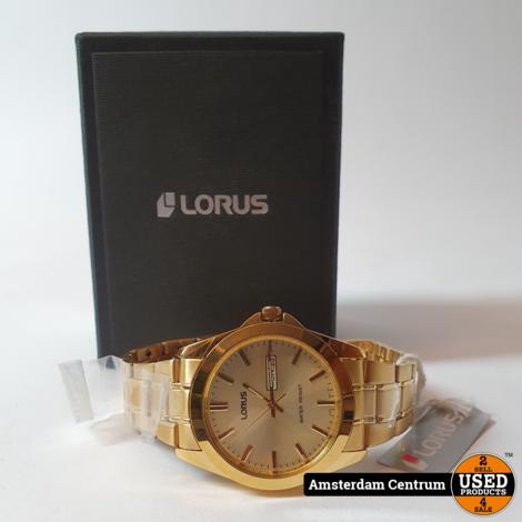 Lorus RJ608AX9 Goud Herenhorloge | ZGAN