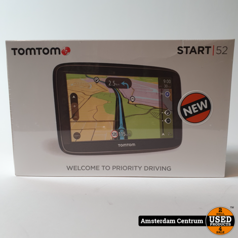 TomTom Start 52 - Europa | Nieuw in Seal