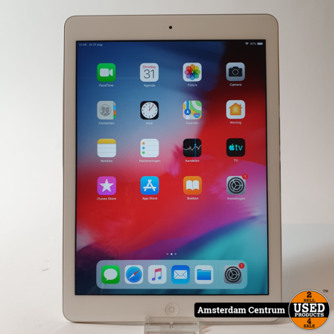 iPad Air 1 16GB WIFI Silver | incl. Lader en Garantie