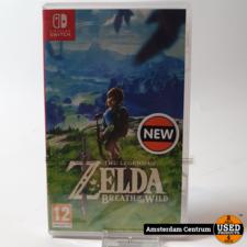 Nintendo Switch Game: The Legend of Zelda: Breath of the Wild   Nieuw