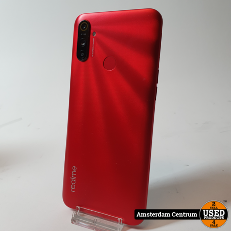 Realme C3 32GB Blazing Red | Nette staat