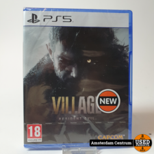 Playstation 5 Game : Resident Evil Village  | Nieuw in seal