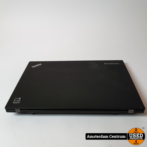Lenovo Thinkpad X240 Laptop | i5-4300u 4GB 256GB | Incl. lader