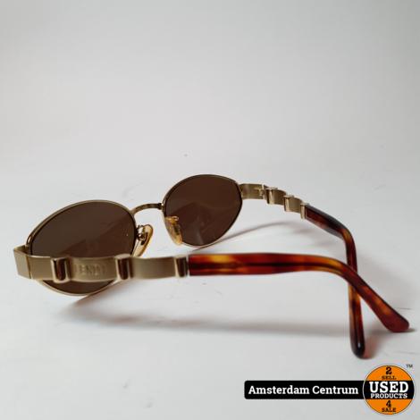 Fendi SL 7127 Gold/Goud Vintage Zonnebril | Nette staat