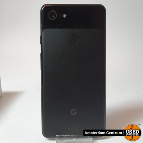 Google Pixel 3 XL 64GB Zwart/Black   Incl. doos en garantie