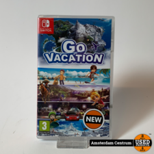Nintendo Switch Game: Go Vacation | Nieuw