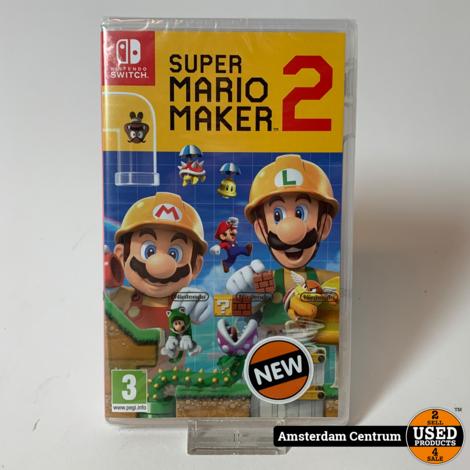 Nintendo Switch Game: Super Mario Maker 2 | Nieuw