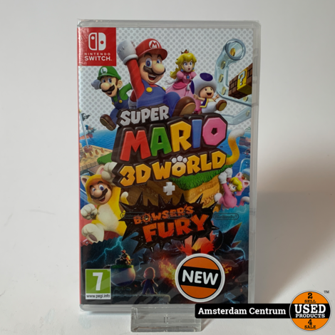 Nintendo Switch Game: Super Mario 3D World + Bowser's Fury | Nieuw