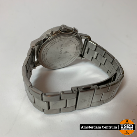 Maserati 8873630001 Heren Horloge Quartz   Incl. garantie