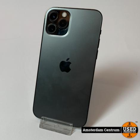 iPhone 12 Pro 128GB Graphite | In nette staat + Apple garantie