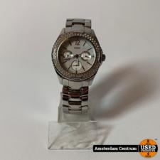 Guess I15074L1 Dames Horloge Zilver | Incl. garantie