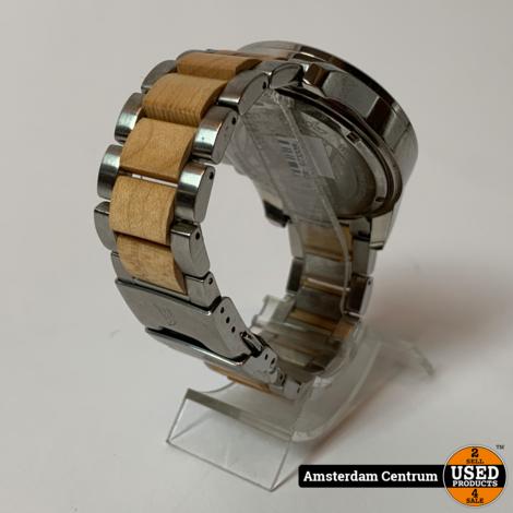 Spinnaker SP-5027 Heren Horloge Zilver/Bruin   Incl. garantie