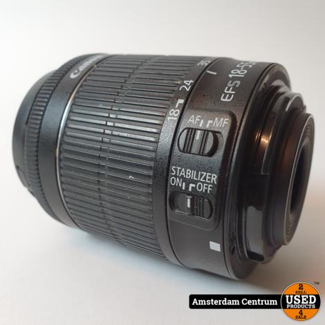 Canon Ef-S 18-55mm F/3.5-5.6 Lens   In nette staat