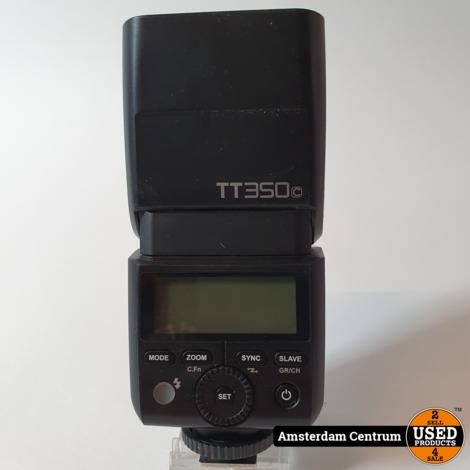 Godox TT350 TTL Flitser Olympus/Panasonic   Incl. garantie