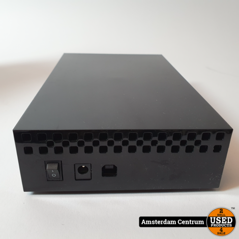 LaCie Hard Disk Design by Neil Poulton 2TB Zwart   incl. Garantie en Doos