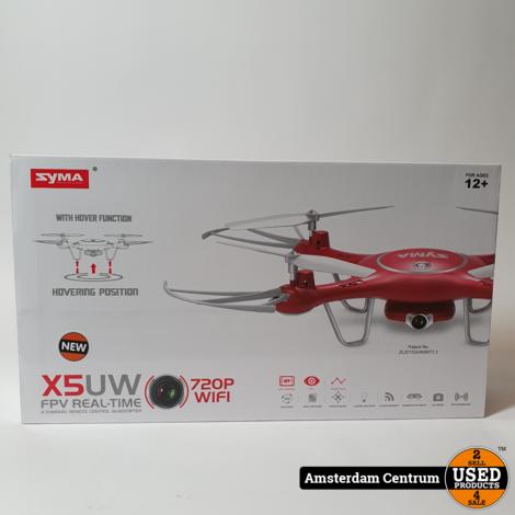 Syma X5UW FPV quadcopter Rood   Nieuw in Doos