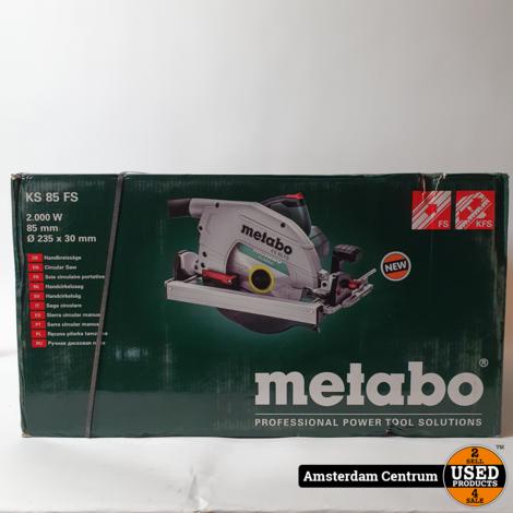 Metabo KS 85 FS Cirkelzaag | Nieuw in doos