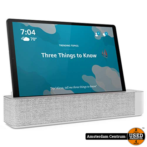 Lenovo Smart Tab M10 FHD Plus 64GB WiFi Platinum Grey #4 | Nieuw in seal