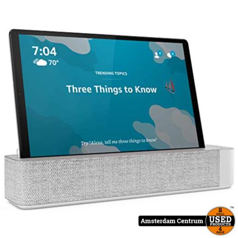 Lenovo Smart Tab M10 FHD Plus 64GB WiFi Platinum Grey   Nieuw in seal