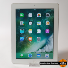iPad 4 32GB WiFi 3G (SIM) Silver  | incl. Lader en Garantie
