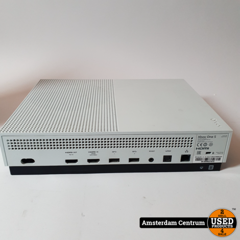 XBOX One S 500GB Wit/White   Excl. controller