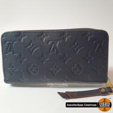 Louis Vuitton M62121 Clemence Wallet Monogram Empreinte Marine Rouge Leather   Incl. garatnie