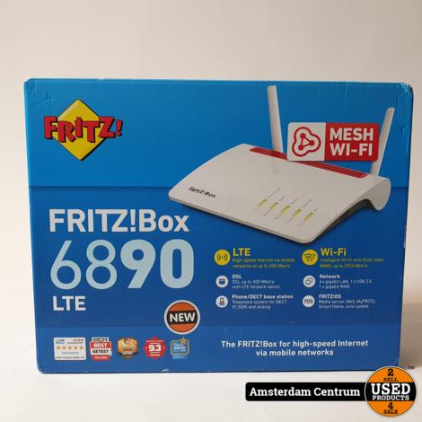 FritzBox 6890 LTE International Router   Nieuw in seal