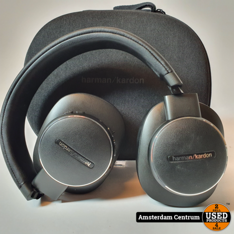 Harman Kardon FLY ANC Bluetooth Koptelefoon Zwart/Black | Nette staat in hoes