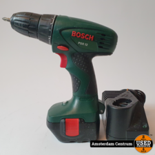 Bosch PSR-12 Accuboormachine | Incl. lader en garantie