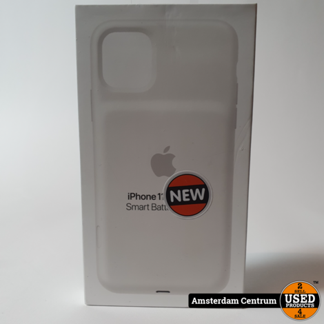 iPhone 11 Pro Max Smart Battery Case White #5   Nieuw in Seal