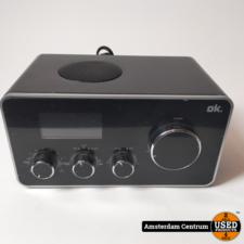 OK Retro Radio Owr-220B Zwart/Black | Incl. garantie