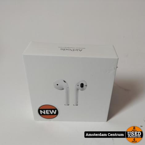 Apple Airpods 2 Wireless charging case | Nieuw in doos!