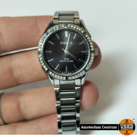 Pulsar VJ21-X035 Dames Horloge Silver   In nette staat