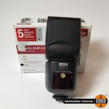 Mecablitz 44 AF-2 Digital Flitser Fujifilm | Nette Staat in Doos