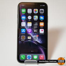 iPhone XR 64GB Zwart/Black    Incl. garantie