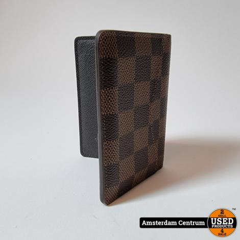 Louis Vuitton N63145 Pocket Organizer Damier Ebene   Nette staat