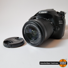 Canon EOS 1200D incl. 18-55mm f/3.5-5.6 IS STM | In nette staat