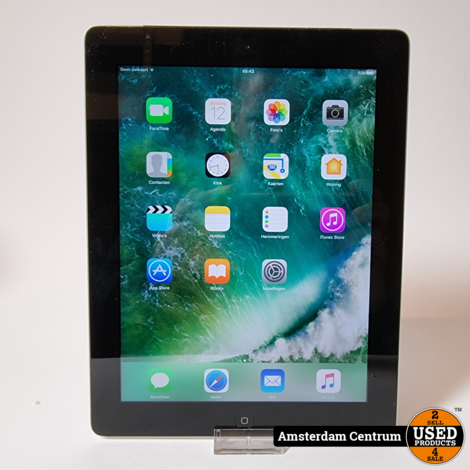iPad 4 16GB WiFi 3G (SIM) Space Gray   incl. Lader en Garantie