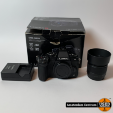 Panasonic DMC-G80 incl. Lumix G 25mm F1.7 Asph.   In doos