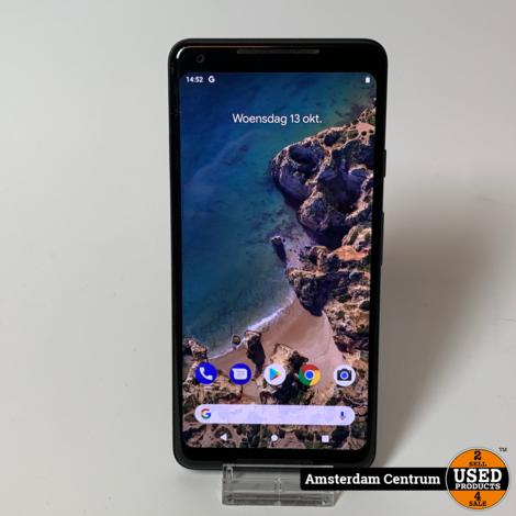 Google Pixel 2 XL 64GB Zwart/Black    In nette staat