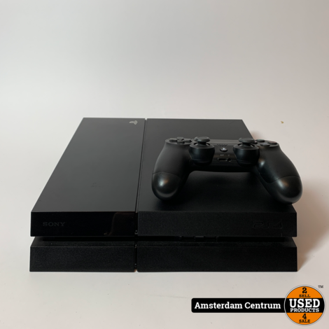 Playstation 4 500GB Zwart   Incl. controller