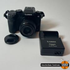 Panasonic Lumix DMC-G7 Zwart + 14-42mm   In nette staat