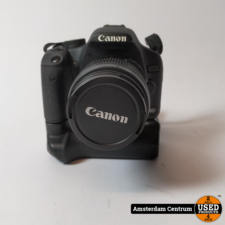 Canon EOS 500D incl. EF-S 18-55mm f/3.5-5.6 IS   Incl. battery grip