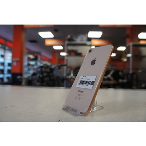 Apple iPhone 8 64GB Gold - nette staat - simlockvrij + Garantie