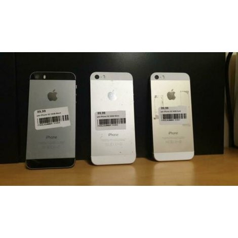 Apple iPhone 5S 16GB Silver in prima staat