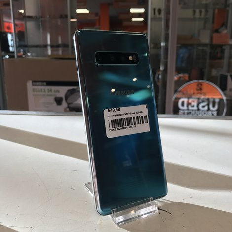 Samsung Galaxy S10+ Blue - 128GB - Met lader - Met garantie